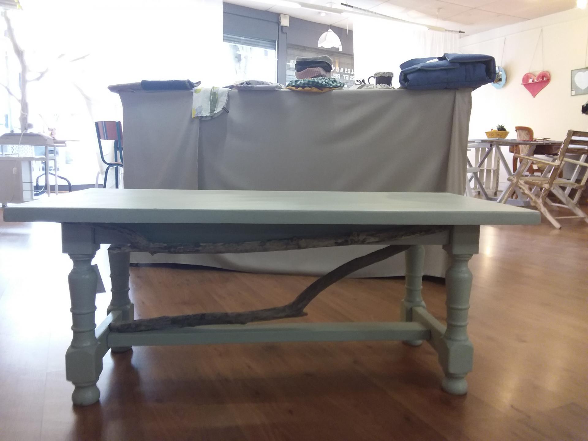 Table basse bois flotte
